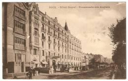 NICE  ----  Hôtel  Royal  --  Promenade Des Anglais   ( Anciennes Automobiles ) - Monumenten, Gebouwen