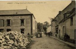 77 CHÂTEAU-LANDON - Inondations De 1910 - Catastrophe De LORROY - Village Détruit - Animée - Chateau Landon