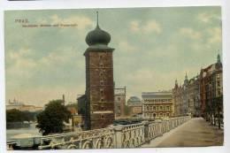 Tchéquie---PRAGUE--1909--Neustadter Muhlen Und Wassertum  N° 111éd D Kosiner & Co  15/8 - Tchéquie