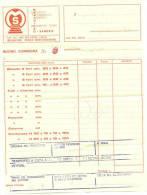 Vecchia Fattura Manufatti In Cemento  Montagnana 1979 - Italy