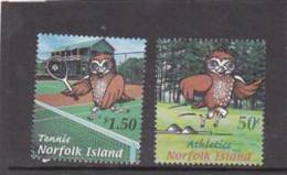 Norfolk Island-2002 Mini Games  MNH - Norfolk Island