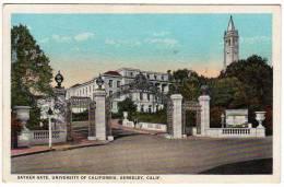 Ca - Sather Gate - University Of California - Berkeley - 1924 - San Diego