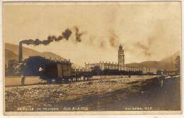 MEXICO Carte Photo ORIZABA Fabrica De Tejidos Rio Blanco Train Wagon Tiré Par Des Chevaux - México