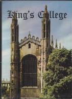 GB.- Books - King's College And Its Chapel Described By John Saltmarsh Vice-provost. 3 Scans - Architectuur / Design
