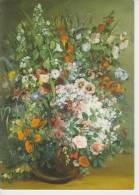 (ART602) GUSTAVE COURBET. BOUQUET DE FLEURS DANS UN VASE - Paintings