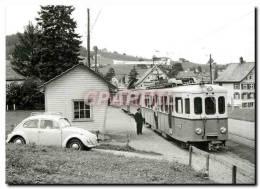 CPM Train Pour Trogen Faisant Halte A Bendlehn 15.8.1967 - Trains