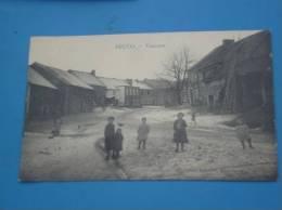 CPA BELGIQUE BECCO Village Animee Sous La Neige   Rare - Belgique