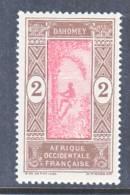 French Dahomey  43  ** - Dahomey (1899-1944)