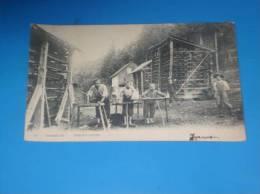 CPA BELGIQUE STAVELOT Trouffleurs (vieux Metier Rare ) - Belgique