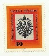 1971 - Germania 522 Stemma Impero, - Francobolli