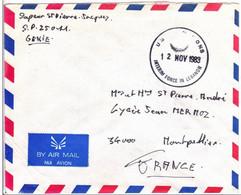 ONU - 1983 - ENVELOPPE Par AVION Des FORCES MILITAIRES FRANCAISE Au LIBAN - Liban