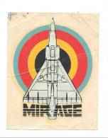 ARMEE BELGE - Force Aérienne - Décalcomanie - Avion Mirage - Militaria