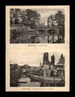 28 - CHARTRES - PLANCHE AVEC 2 VUES - Le Pont-Neuf - Lieux