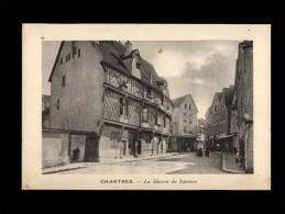 28 - CHARTRES - PLANCHE AVEC 1 VUE - La Maison Du Saumon - Lieux