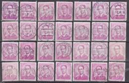 Lotje Mechanische Stempels Op Type Marchand - 1953-1972 Brillen