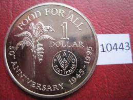 Trinidad & Tobago , 1 Dolar 1995 FAO - Monedas