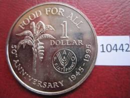 Trinidad & Tobago , 1 Dolar 1995 FAO - Monnaies