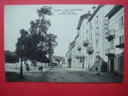 88. GERARDMER - Grand Hôtel Et Hôtel De La Poste - Gerardmer