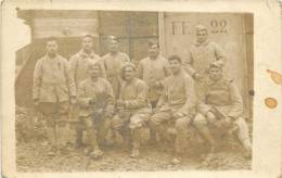CARTE PHOTO  MILITAIRE   35 E REGIMENT - Guerra 1914-18