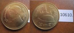 Thailandia 2 Bath , 2551 / 2008 DC - Monedas