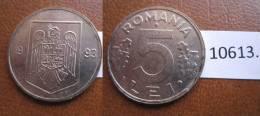 Rumania 5 Lei 1993 - Monnaies