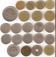LOTE DE 22 MONEDAS FRANCESAS CASI TODAS DIFERENTES AÑOS SÓLO 3,20 EUROS (COIN) - Frankreich