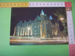 50)canada :ottawa :  Chateau  Laurier : La Nuit - Ottawa