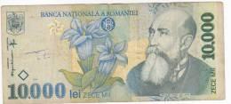 Romania , 1999 , 10.000 Lei ,  Used - Roemenië