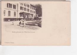 88.014/ BUSSANG - Entrée Principale De L'Hôtel Des Sources - Bussang