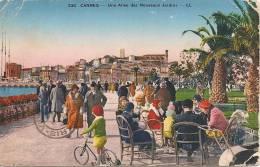 CANNES---UNE ALLEE DES NOUVEAUX JARDINS - Cannes