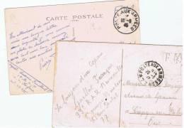 France:obl.poste Aux Armees 2 Cp) - Poststempel (Briefe)