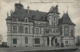 18-81B - Ct. Saint Martin D'Auxigny - MENETOU SALON - Le Château - Autres Communes