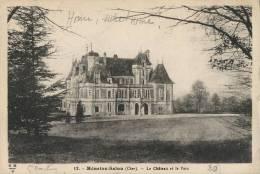 18-83B - Ct. Saint Martin D'Auxigny - MENETOU SALON - Le Château - Autres Communes