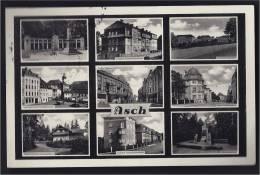 ASCH 21 SEPTEMBRE 1938 SUDETEN LAND GERMAN OCCUPATION SS WWII 9 ANSICHTEN - Sudeten