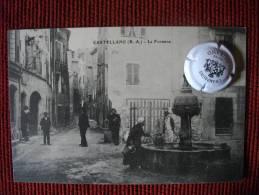 CASTELLANE ALPES DE HAUTE PROVENCE LA FONTAINE - Castellane