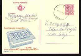 Publibel N°2773F - Hyon 1983 - Stamped Stationery