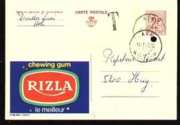 Publibel N°2344F - Ath 1970 - Taxée - Stamped Stationery
