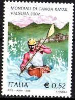 PIA - ITALIA - 2002 : Campionati Mondiali Di Canoa Kayak In Valsesia   - (SAS  2627) - 6. 1946-.. Repubblica