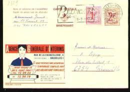 Publibel N°2329FN - Bruxelles 1972 - Stamped Stationery