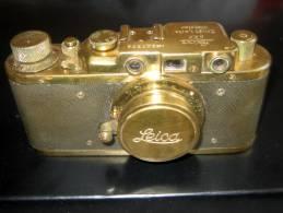 RAR Alte Kamera Opa's Leica Aus Messing Dachbodenfund ! - Fotoapparate