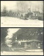"""Lot De 3 CPA.  """"La Bonne Nouvelle"""". 2e. Bateau De La Mission Populaire Évangélique De France. - Missions"""