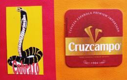 Cerveza CRUZCAMPO  Lot 454 - Bierdeckel