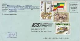 ETHIOPIA 1998 Cover To USA. - Ethiopia