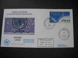TAAF. 1994. Station Lidar FDC/ETB (G1884) - FDC