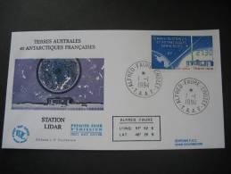 TAAF. 1994. Station Lidar FDC/ETB (G1888) - FDC