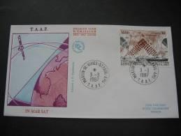 TAAF. 1987. Inmarsat Satelliet FDC/ETB (G1860) - FDC