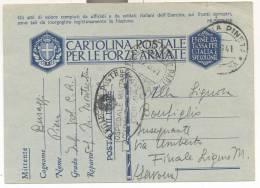 2453-FRANCHIGIA 2° GUERRA-OSPEDALE MILITARE-CERVIA-C.R.I.-15 -09-1941 - 1900-44 Vittorio Emanuele III