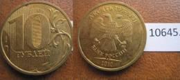 Rusia  10 Rublos 2010 - Monedas
