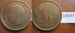 Belgica 20 Francos 1980, Leyenda En Flamenco - Monedas