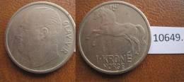 Noruega  1 Corona 1967 - Monedas